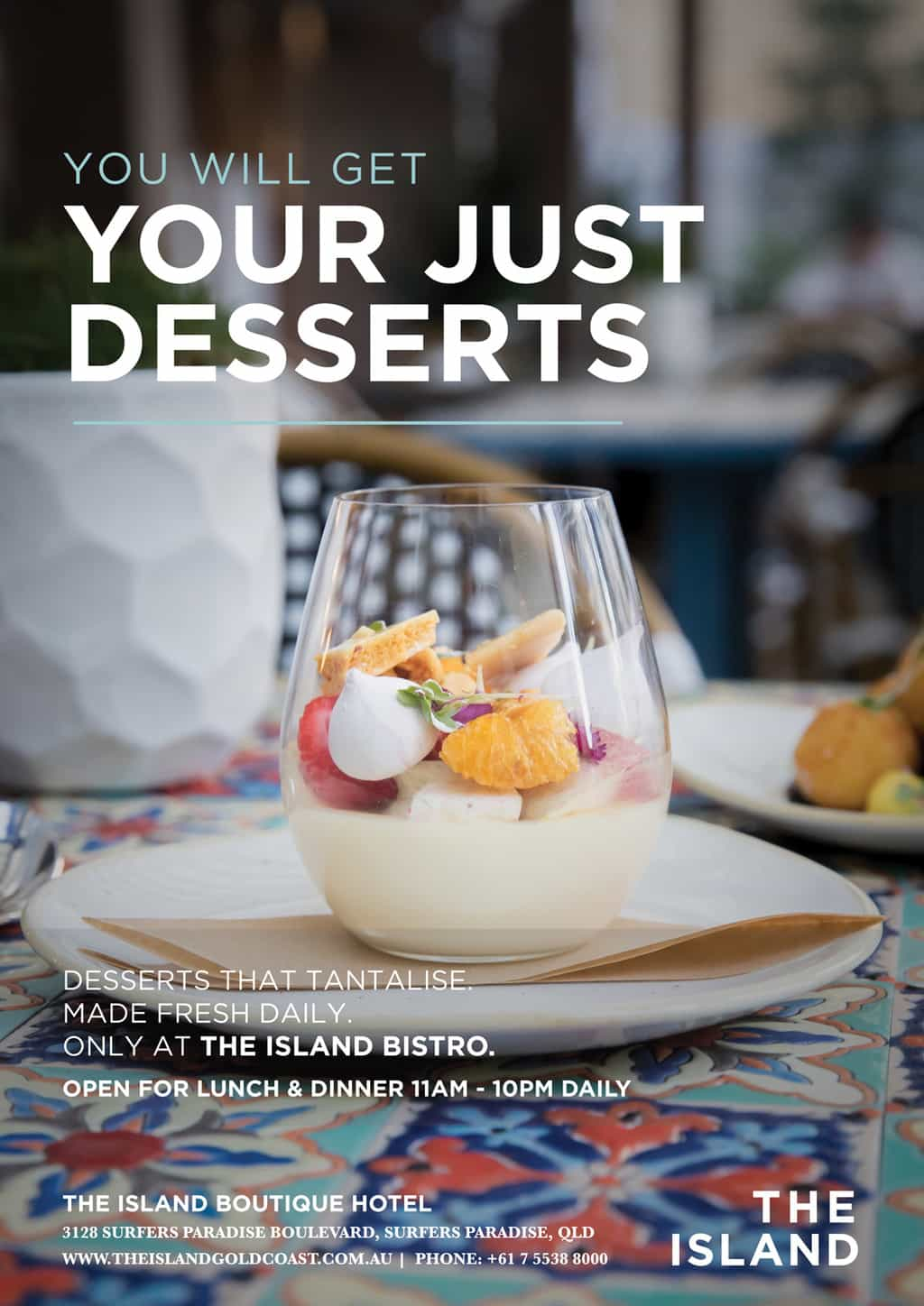 food-posters-dessert [object object] - food posters dessert - The Island Bistro | Gold Coast Restaurants