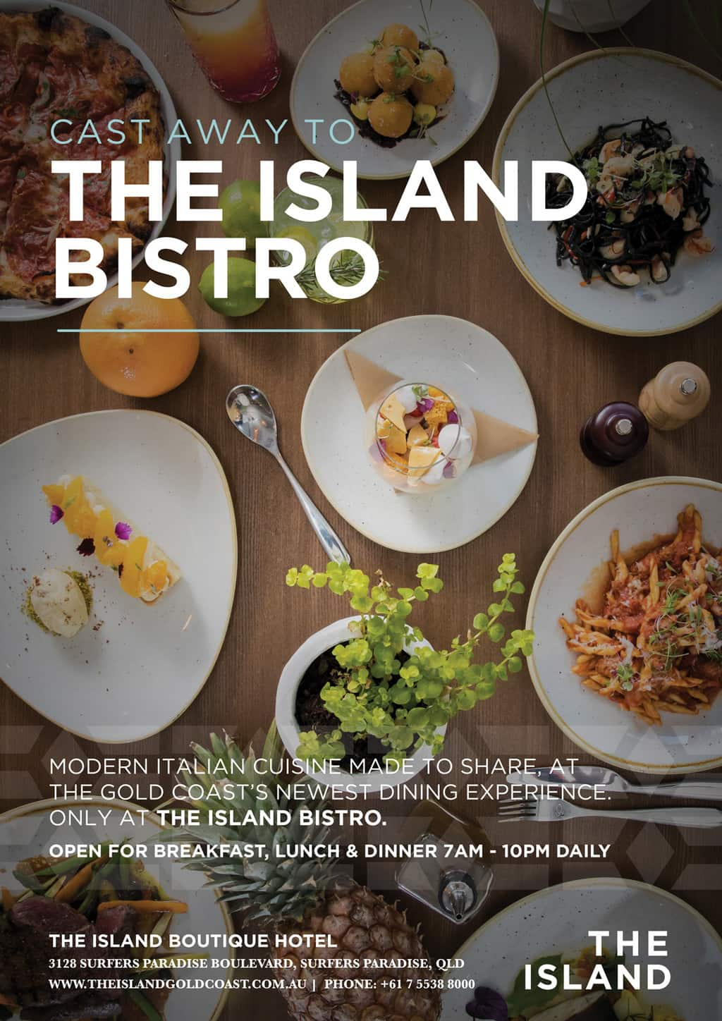The Island Bistro [object object] - food posters general - The Island Bistro   Gold Coast Restaurants