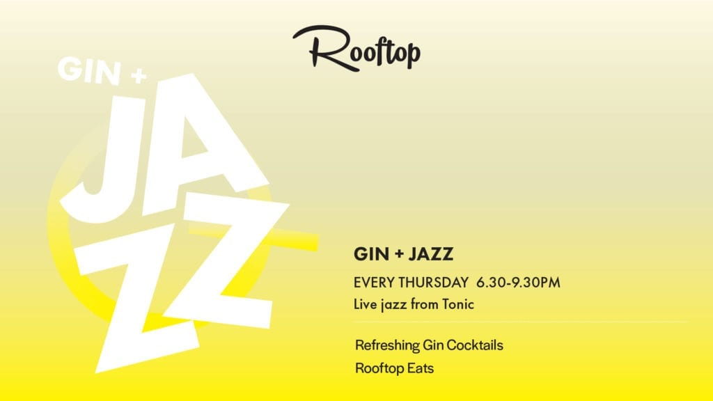 Gin and Jazz on the Rooftop