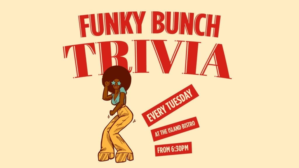 Funky Bunch Tuesday Trivia