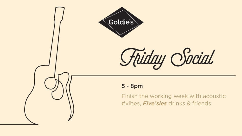 Friday Social at Goldie's