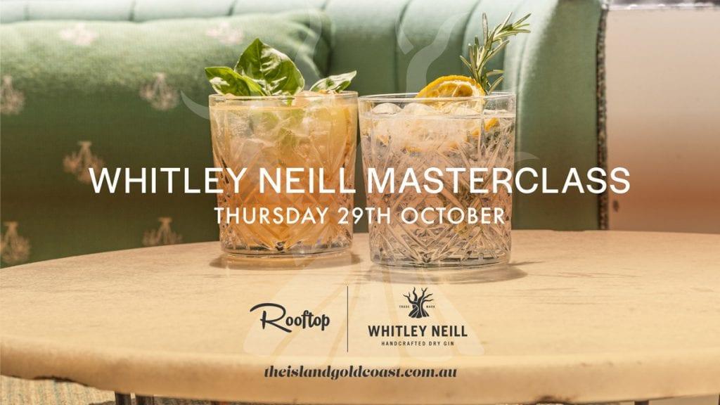 Whitley Neill Gin Masterclass